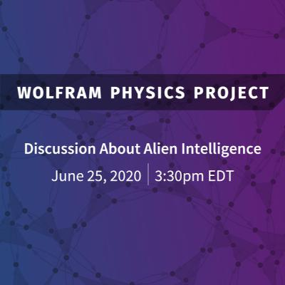 Wolfram Physics Project: A Discussion about Physics Built by Alien Intelligences