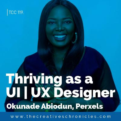 Okunade Abiodun - Thriving as a UI and UX Designer