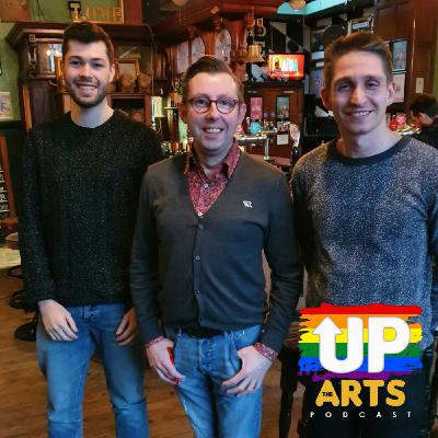 Up The Arts: Playwright Tom Wright and the King's Head Theatre's Oscar French