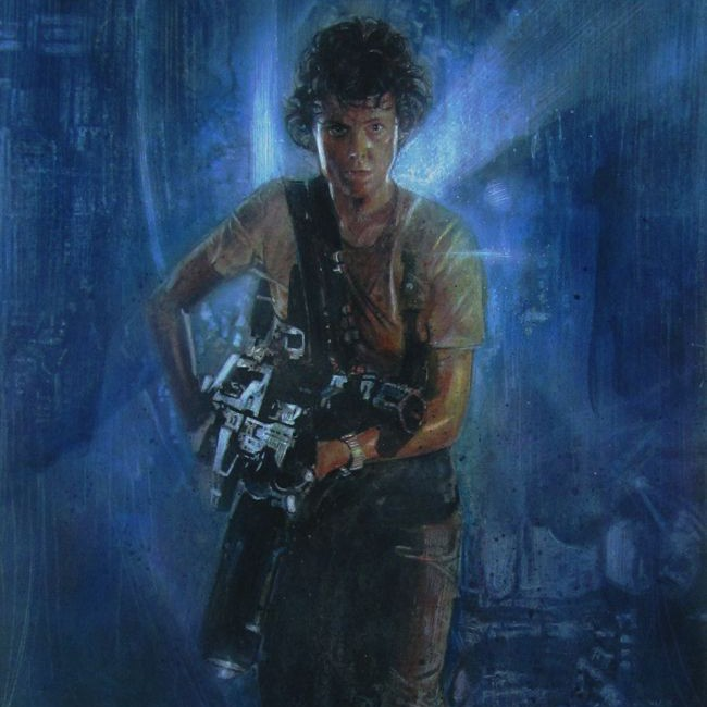 WWKA: Sigourney Weaver as Ellen Ripley in Alien film series