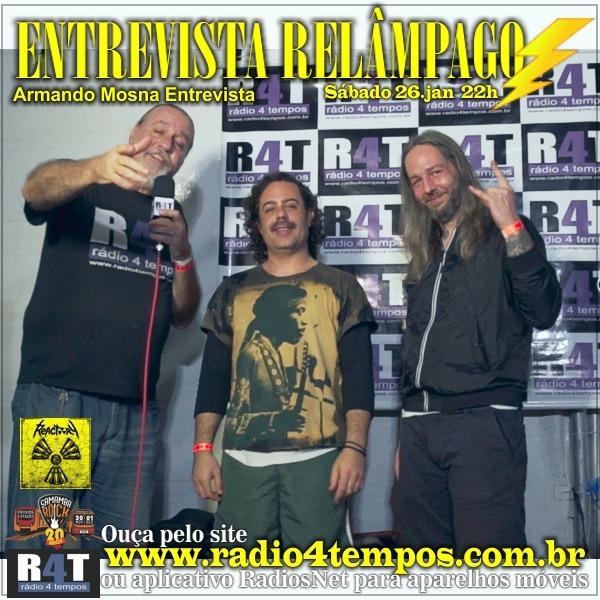 Rádio 4 Tempos - Entrevista Relâmpago 49
