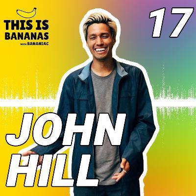 #17 Becoming a Pro Skater, Full Time YouTuber, & a Vegan | John Hill