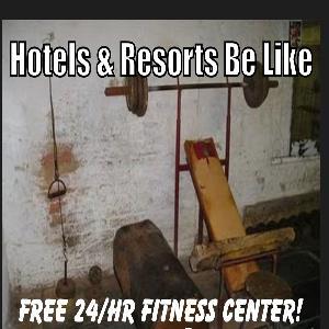 Hotel Gyms SUCK!