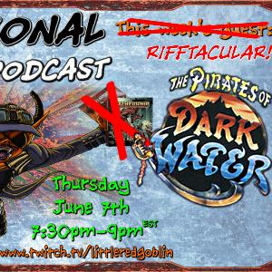 Episode 43: RIFFTACULAR Pirates of Dark Water Episodes 1-3
