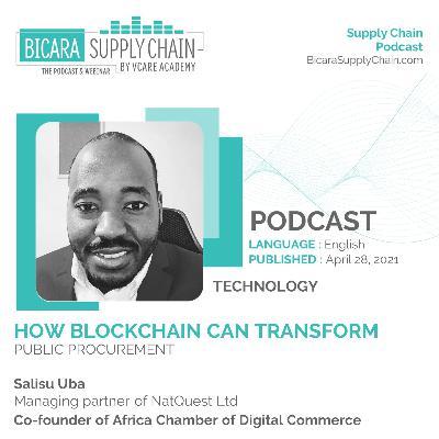134. How blockchain can transform public procurement