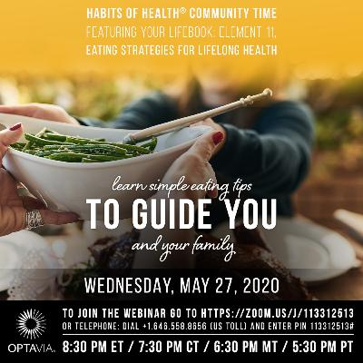 Your LifeBook, Element 11: Eating Strategies for Lifelong Health