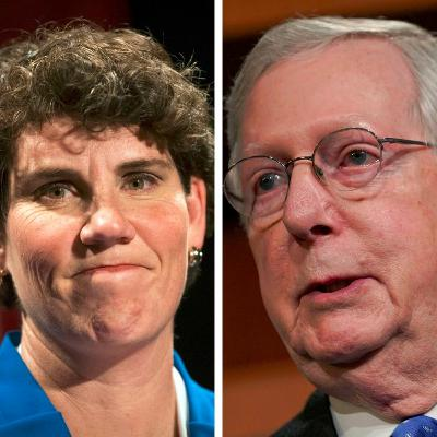 Election Connection | Amy McGrath and Mitch McConnell-Candidates for US Senate | 10-20-20