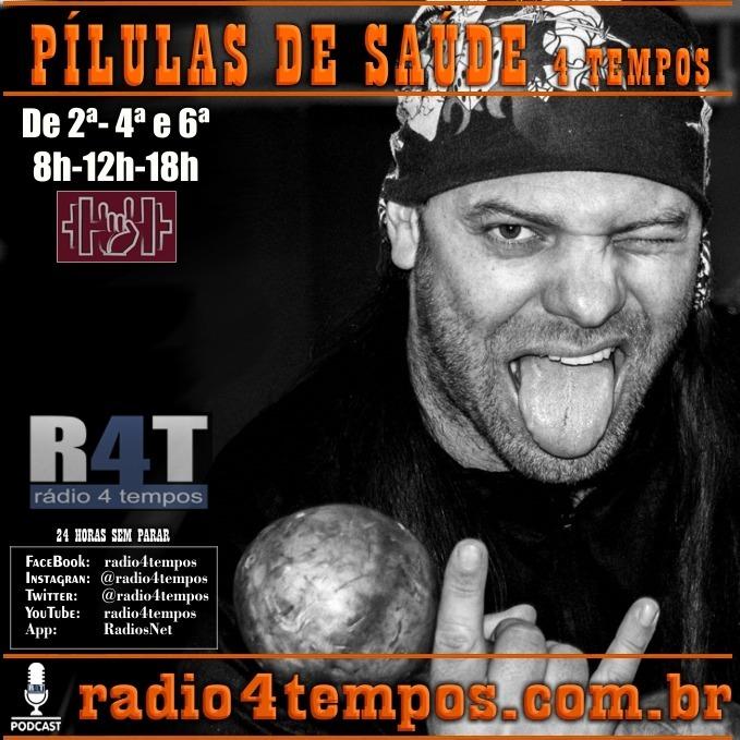 Rádio 4 Tempos - Pílulas de Saúde 114:Itazil Junior