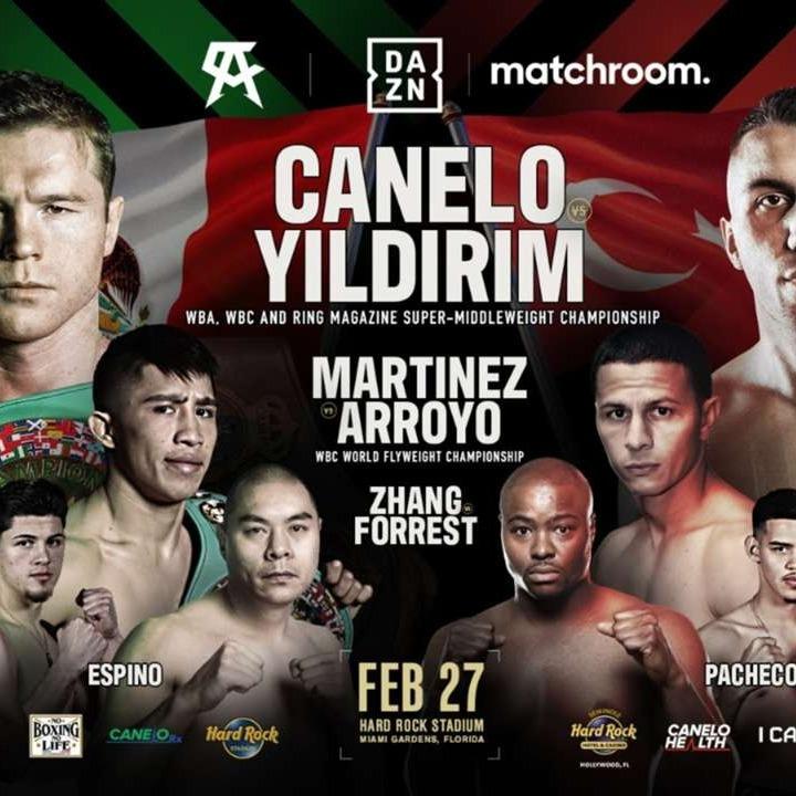 How to watch Saul Alvarez vs Avni Yildirim Boxing Live Stream Online