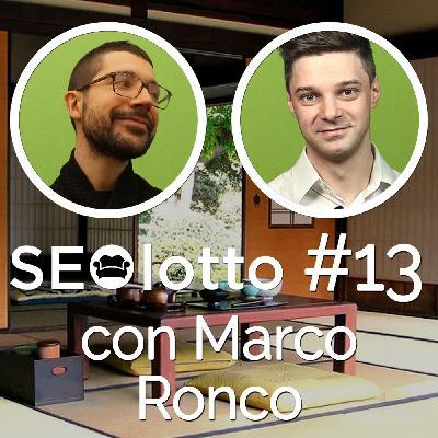 (con Marco Ronco) I sorprendenti numeri di posizionamentomotoridiricerca.com [#13]