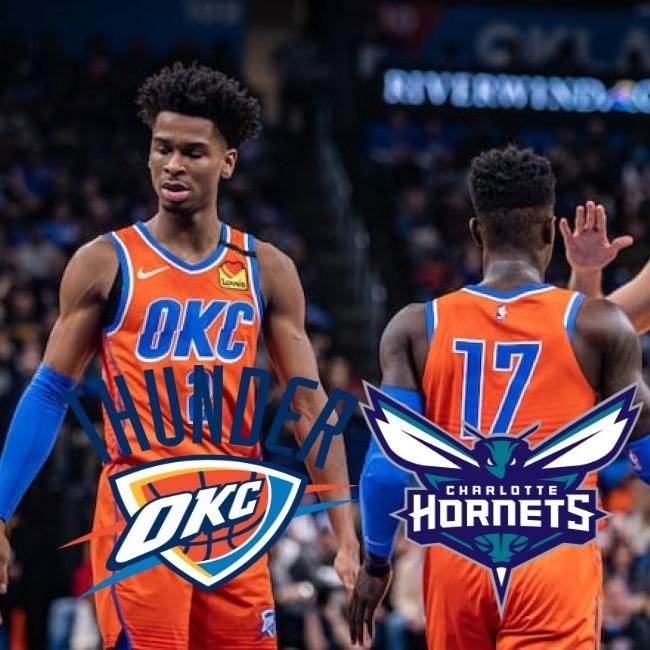 Oklahoma City Thunder Vs Charlotte Hornets - Dabet