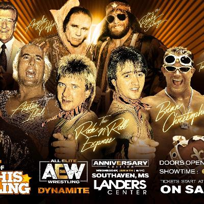 AEW DYNAMITE FROM MEMPHIS INCLUDING MEMPHIS LEGENDS! EPISODE #51 IS KILLER!!