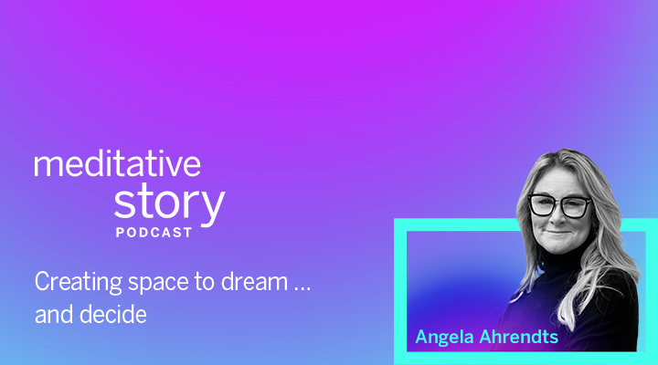 Creating my own sanctuary, by Angela Ahrendts