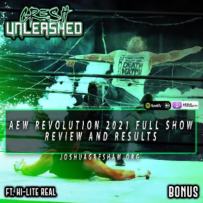 AEW Revolution 2021 Full Show Review: Christian Cage Is In AEW! Exploding Barbed Wire Death Match!   Ft. Hi-Lite Real