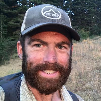 "15. Zach ""Badger"" Davis and The Trek (w/ co-host Real Hiking Viking)"