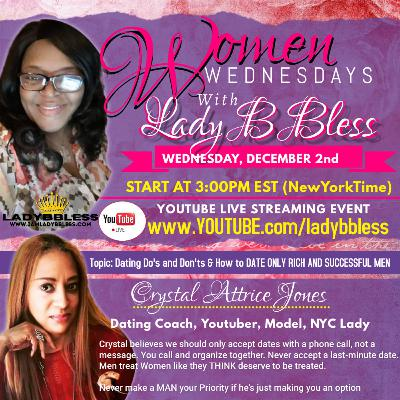 #18 December 2, 2020 - (Crystal Attrice Jones) Women Wednesdays