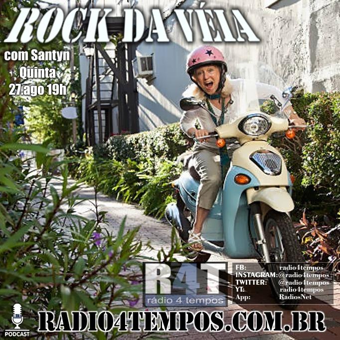 Rádio 4 Tempos - Rock da Véia 83:Rádio 4 Tempos