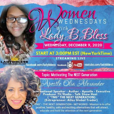 #19 December 9, 2020 - (Olia Alexander) Women Wednesdays