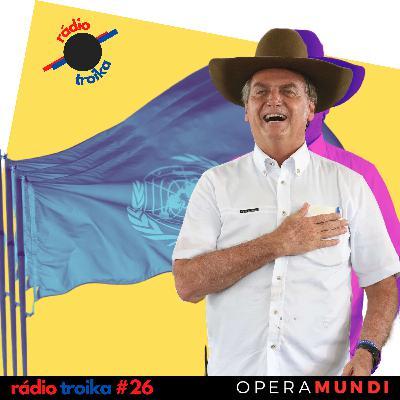#26 - Teto de vidro: discurso de Bolsonaro na ONU repercute pelo mundo