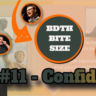 Episode 11 - BDTH Bite-Size - Noel Matthews on Confidence