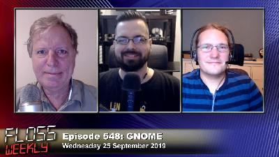 FLOSS Weekly 548: GNOME