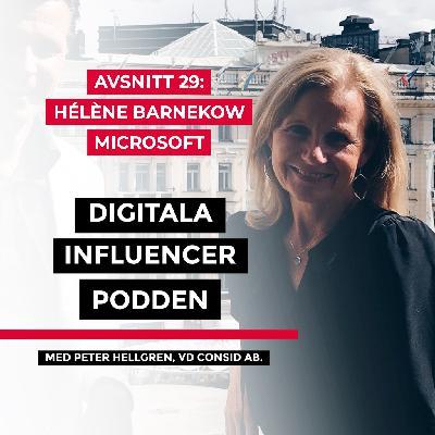 29. Hélène Barnekow, vd Microsoft Sverige – den digitala transformationen och jämlikhet i IT-branschen