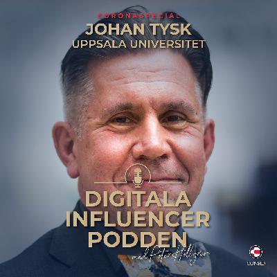 Uppsala Universitet erbjuder permitterade ingenjörer vidareutbildning på distans under Coronapandemin | Johan Tysk, professor & vicerektor teknik & naturvetenskap vid Uppsala Universitet (Coronaspecial)