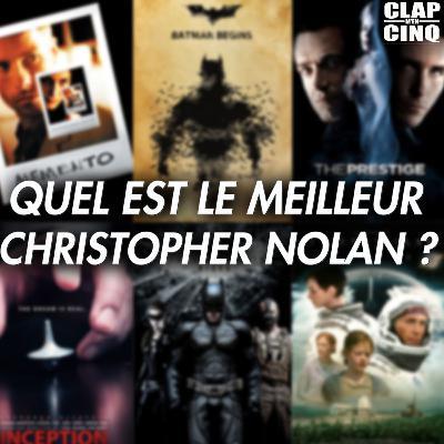 CHRISTOPHER NOLAN: VOS 3 FILMS PRÉFÉRÉS - Le Débat (Inception, Interstellar, Batman, Memento, Tenet, Dunkerque...)