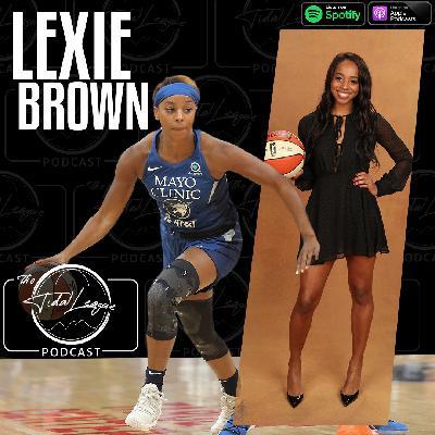 "Lexie Brown on the WNBA ""Wu""bble, Kicks & Fits, Minnesota Lynx"