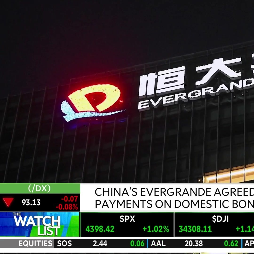 The Latest Developments For China's Evergrande