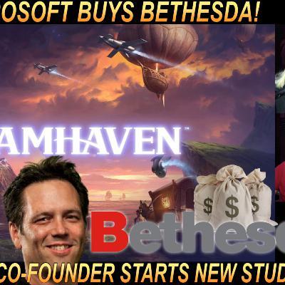 Microsoft buys Bethesda and Blizzard co founder creates new studio Dreamhaven!