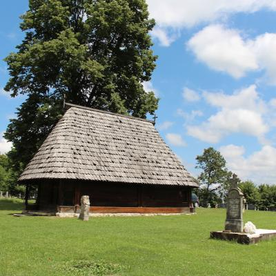 The Wooden Church of St Nicholas at Romanovci | The Balkan Adventures Podcast