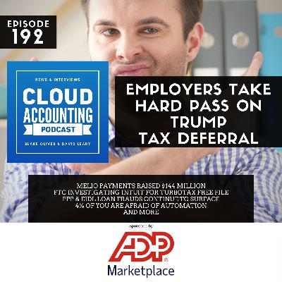 Employers Take Hard Pass on Trump Tax Deferral