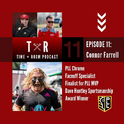 'Time and Room Podcast' with EB & Coach Dane Smith: Episode 11 - Connor Farrell