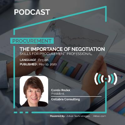 71. The importance of negotiation skills for procurement professional