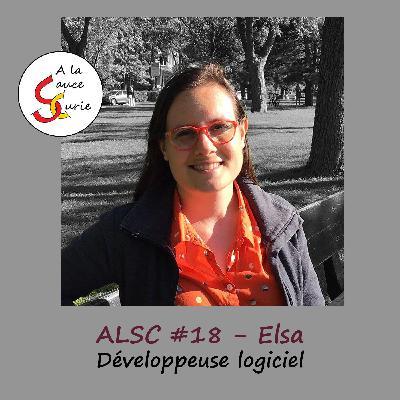 Elsa, développeuse logiciel et heureuse de l'être [ALSC S02E18]