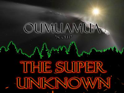 The SUPER UNKNOWN - OUMUAMUA