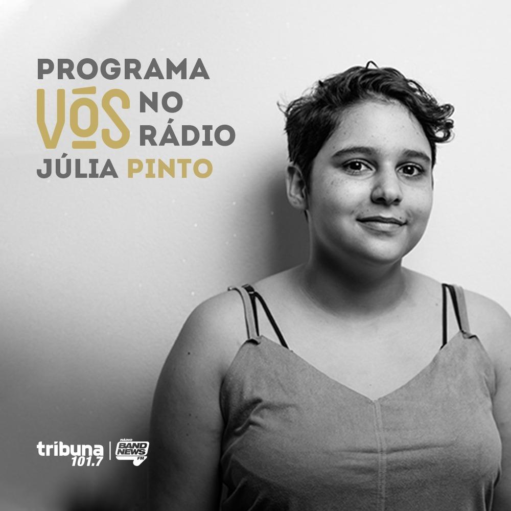 """VÓS NO RÁDIO #24: """"Autistar"""", o verbo de Júlia Pinto em favor do respeito"""