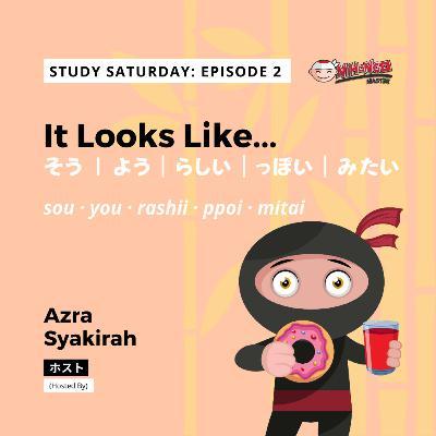 S2E4: Study Saturday - It Looks Like... (そう・みたい・ようだ・っぽい・らしい )