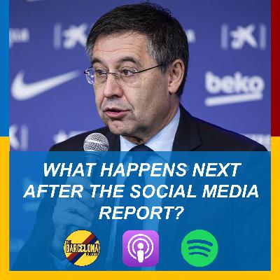 Social Media Embarrassment, Messi midfielder, New Strikers Search, and Replacing Jordi Alba