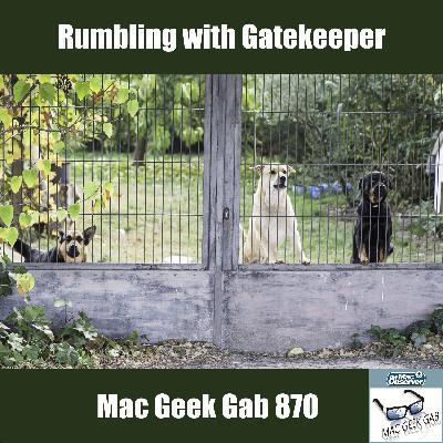 MGG 870: Rumbling with Gatekeeper