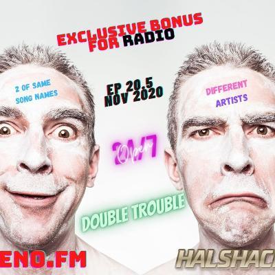 Episode 76: Halshack Ep 20.5 (DOUBLE TROUBLE) Nov 2020- bonus show (ZENO FM Halshack Radio exclusive)
