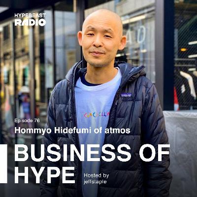 Hommyo Hidefumi of atmos