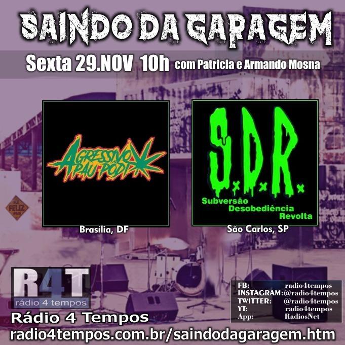 Rádio 4 Tempos - Saindo da Garagem 06:Rádio 4 Tempos