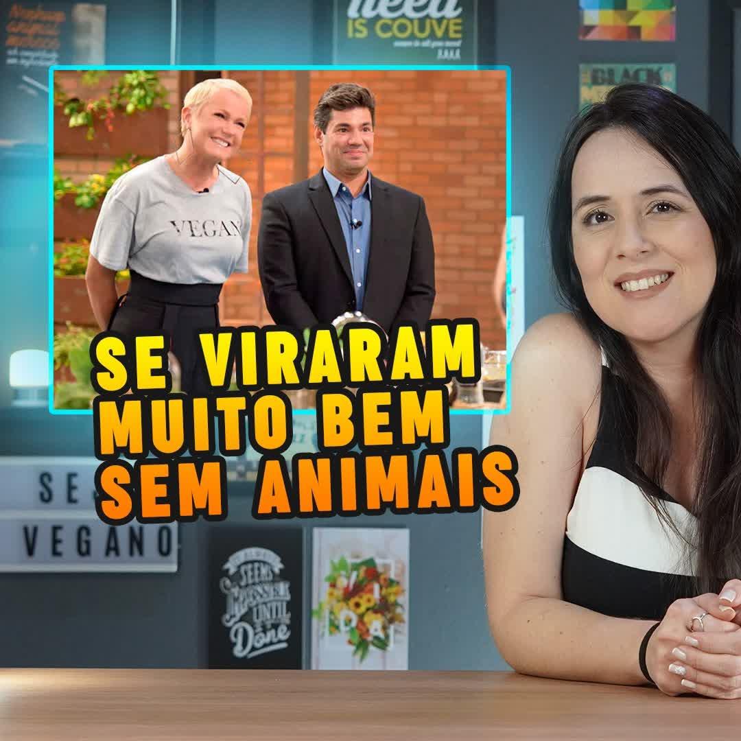 Xuxa faz reality culinário ser vegano em um episódio inteiro