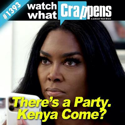 RHOA: There's a Party. Kenya Come?
