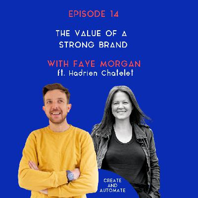 Hadrien Chatelet on the value of a strong brand | 14