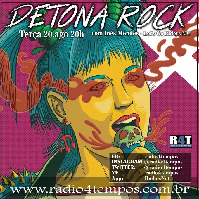Rádio 4 Tempos - Detona Rock 20:Rádio 4 Tempos