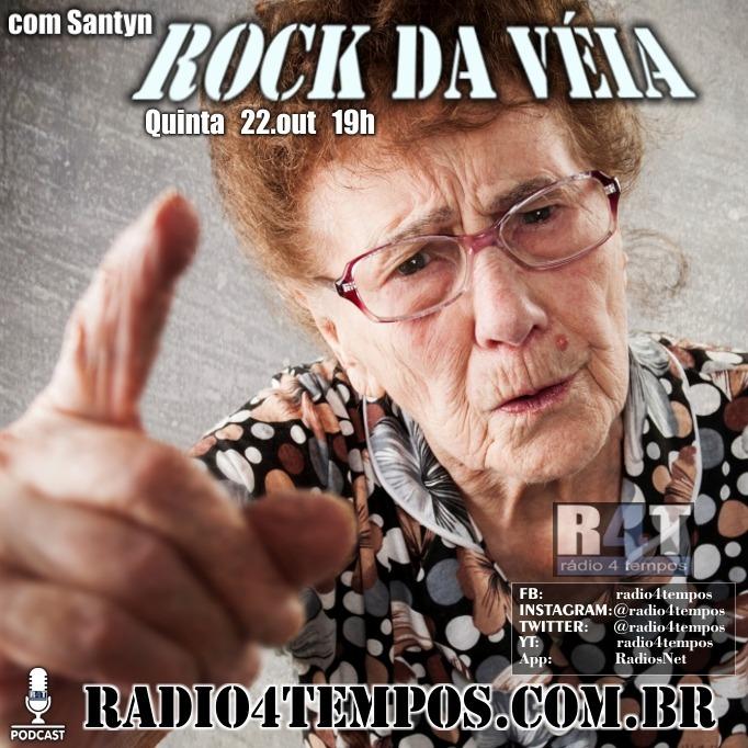 Rádio 4 Tempos - Rock da Véia 89:Rádio 4 Tempos