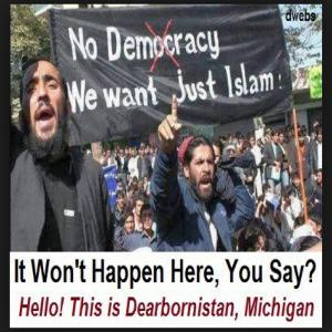 Dearborn, Michigan practicing Sharia Law?